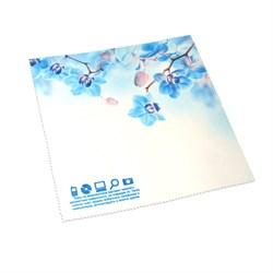 """Салфетка из микроволокна """"Голубые орхидеи"""" - фото 105570"""