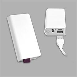 Внешний аккумулятор в виде записной книжки, 6000mAh - фото 105579