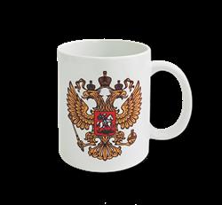 """Кружка """"Герб России"""" - фото 105620"""