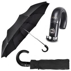Зонт (58см диаметр, 3 сложения, 10 спиц) - фото 13303