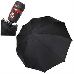 Зонт (58см диаметр, 3 сложения, 10 спиц) - фото 13308