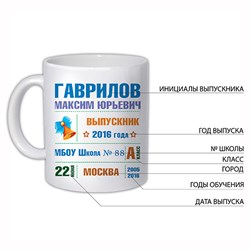 "Кружка ""Выпускник"" - фото 14008"