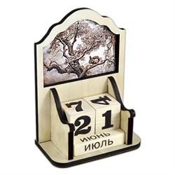 """Деревянный вечный календарь """"Белочка"""" - фото 15230"""
