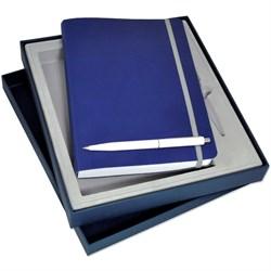 Набор с ежедневником в ГИБКОЙ обложке и ручкой - фото 16295