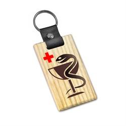 "Брелок деревянный ""Медицина"" - фото 20524"