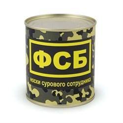 "Носки ""сурового сотрудника ФСБ"" в консервной банке - фото 43726"