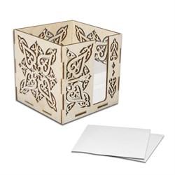 Блок под листки для записей, резной - фото 98397
