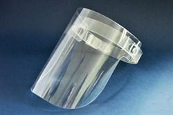 Защитный экран для лица из пластика - фото 99277