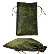 Подарочный мешок цвета хаки, большой (180х290мм)