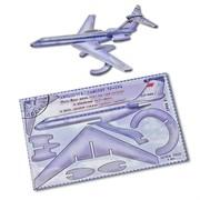 """Подарочная открытка """"ТУ-134"""" + конструктор из дерева"""