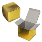 Коробочка под кружку (золотая)