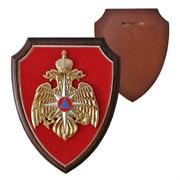 """Плакетка в виде щита """"МЧС России"""""""
