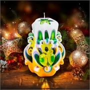 Резная свеча «Яблочко» (высота 8 см)
