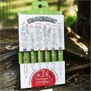 Набор цветных растущих карандашей. Восточные пряности.